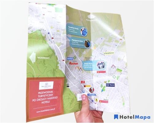 Lepsze doświadczenie gości z dedykowaną mapą hotelu