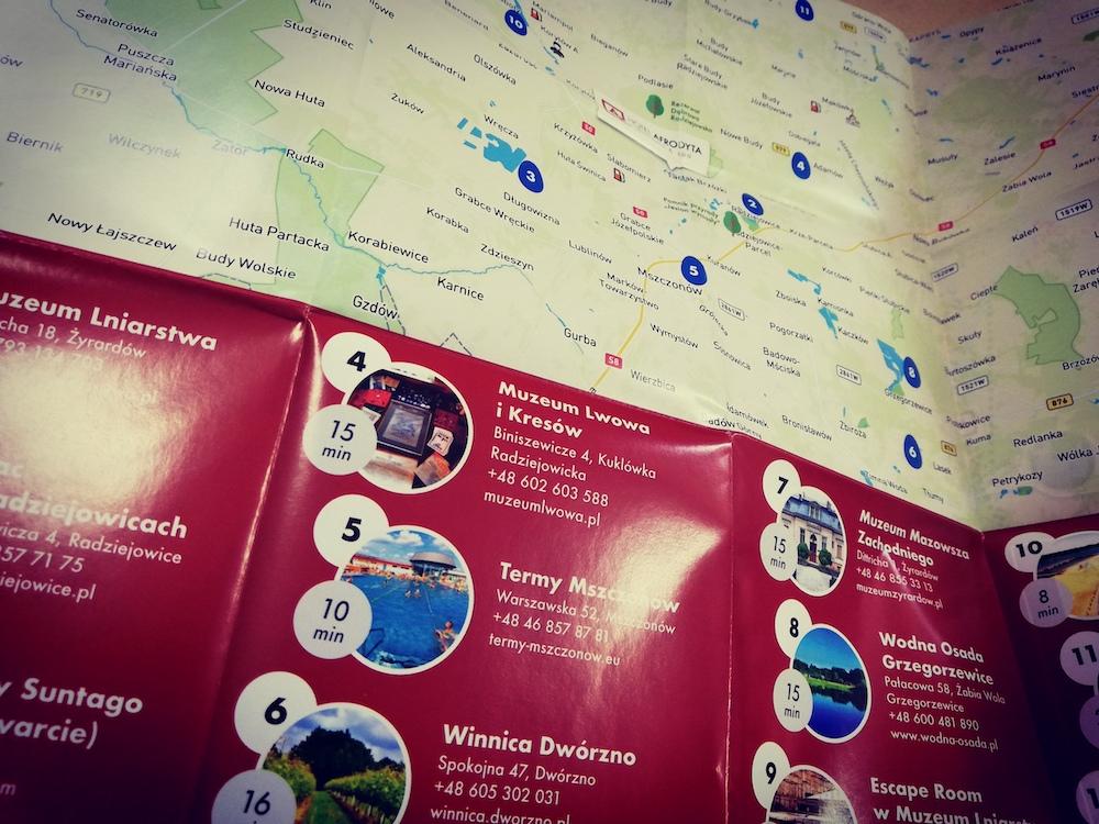 Mapy dla hotelu Afrodyta