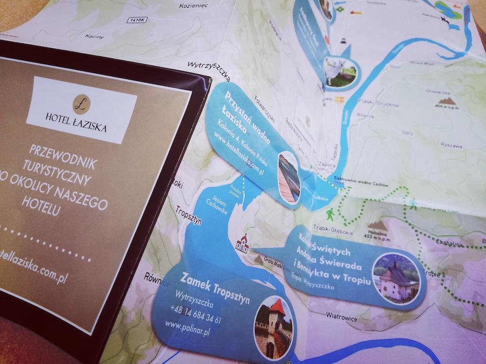 Hotel Łaziska z mapami HotelMapa