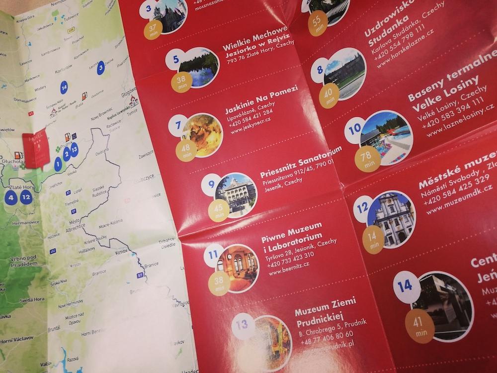 Mapy po okolicy dla Hotelu Dębowe Wzgórze