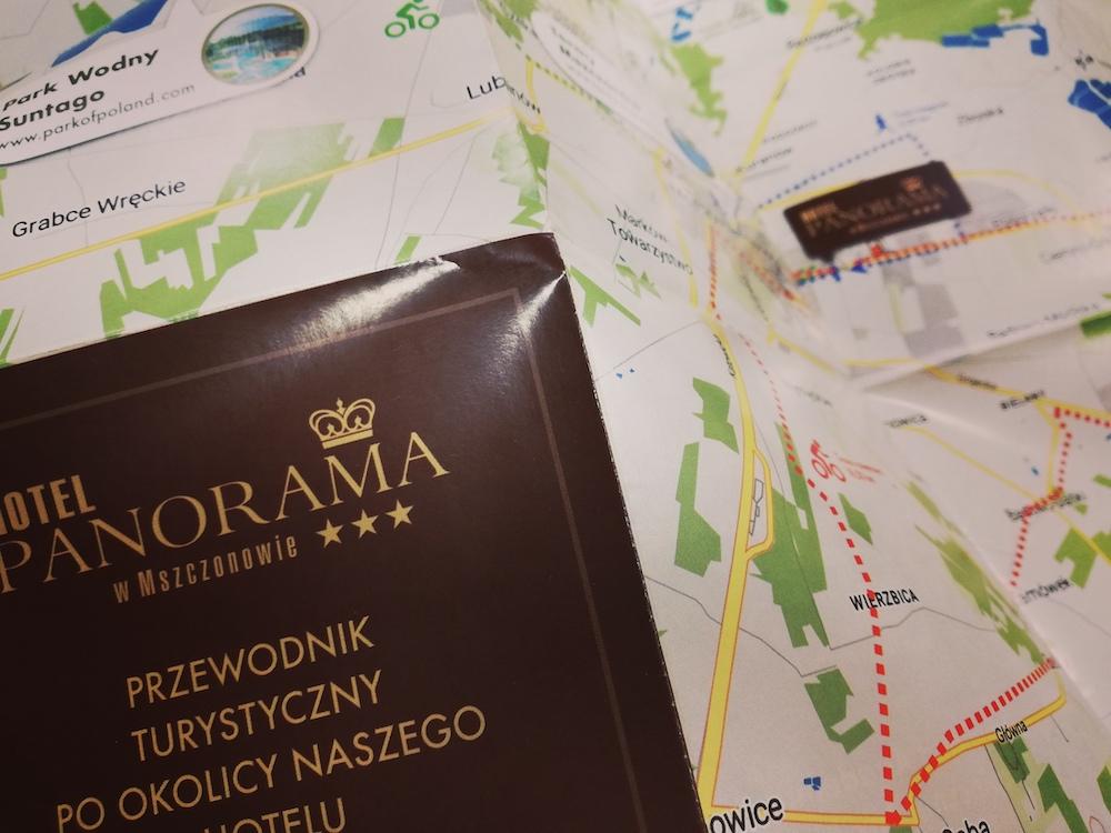 Mapy dla Hotelu Panorama w Mszczonowie