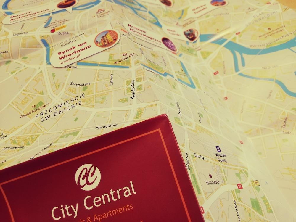 Apartamenty City Central z mapami od HotelMapa.pl
