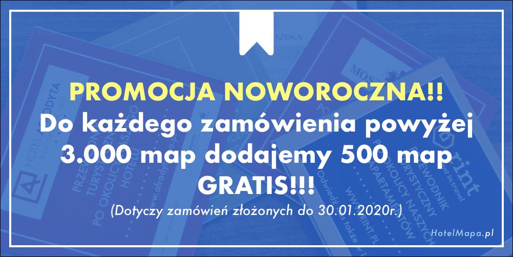 Promocja Noworoczna 500 MAP GRATIS!