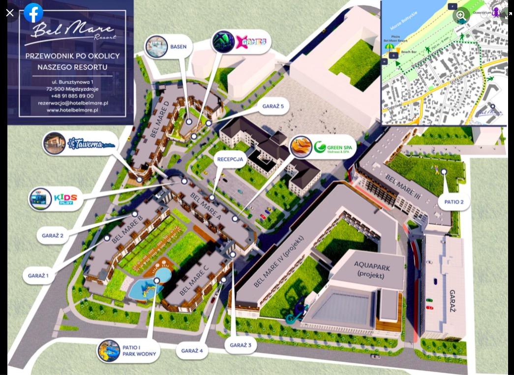 Bel Mare Resort w Międzyzdrojach z naszymi mapami!