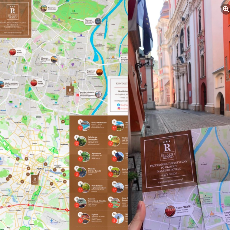 Hotel Palazzo Rosso z mapami od HotelMapa!