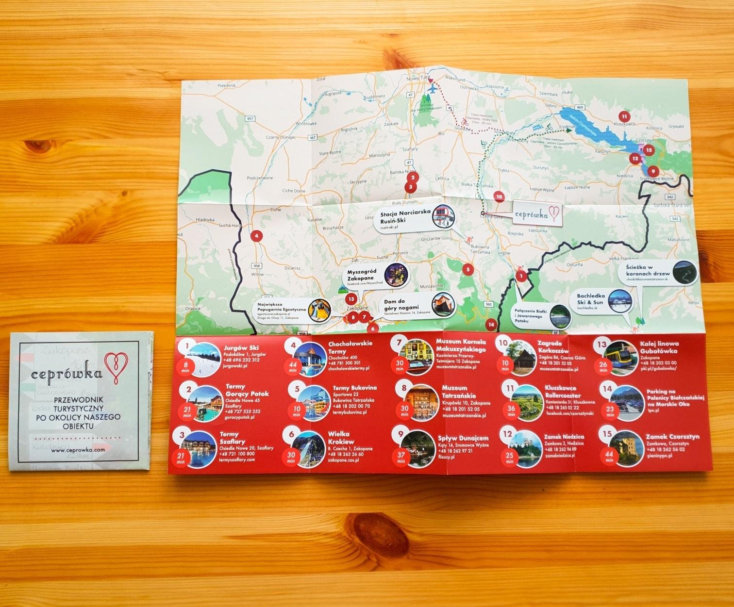 Nowe Mapy dla obiektu Ceprówka w Białce Tatrzańskiej